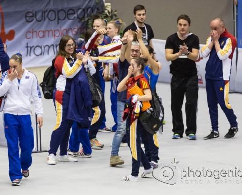 Campeonato de Europa de trampolín en Valladolid Photogenic