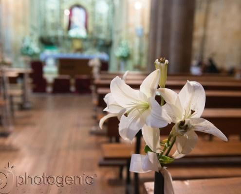 Las flores en una boda Photogenic