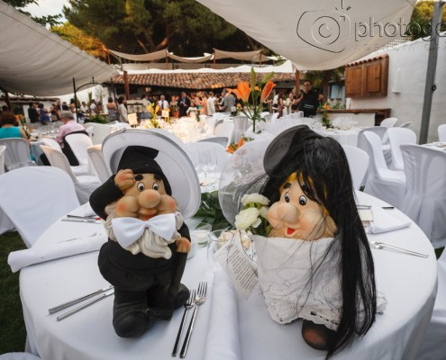 Detalles de una boda Photogenic