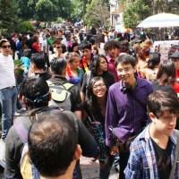 Efectúan XXXIII marcha LGBT