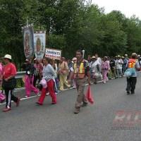 Peregrinación anual de michoacanas a la Basílica
