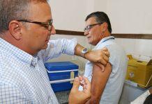 Vacinação contra a gripe