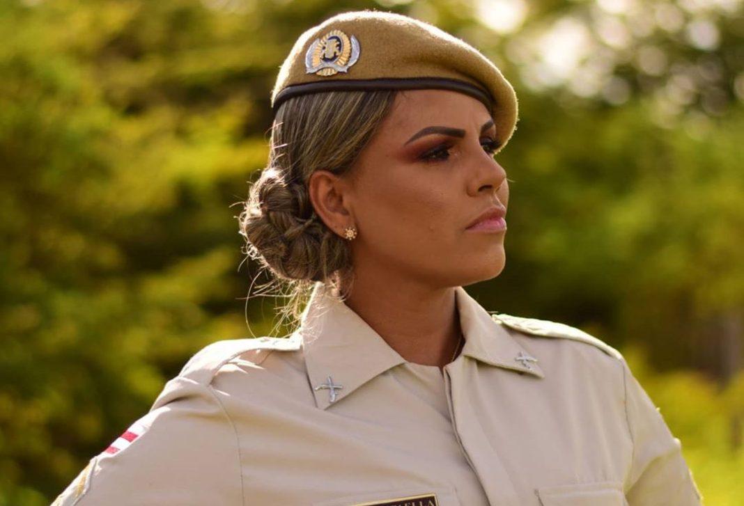 Rafaella publicava rotina de policial nas redes sociais