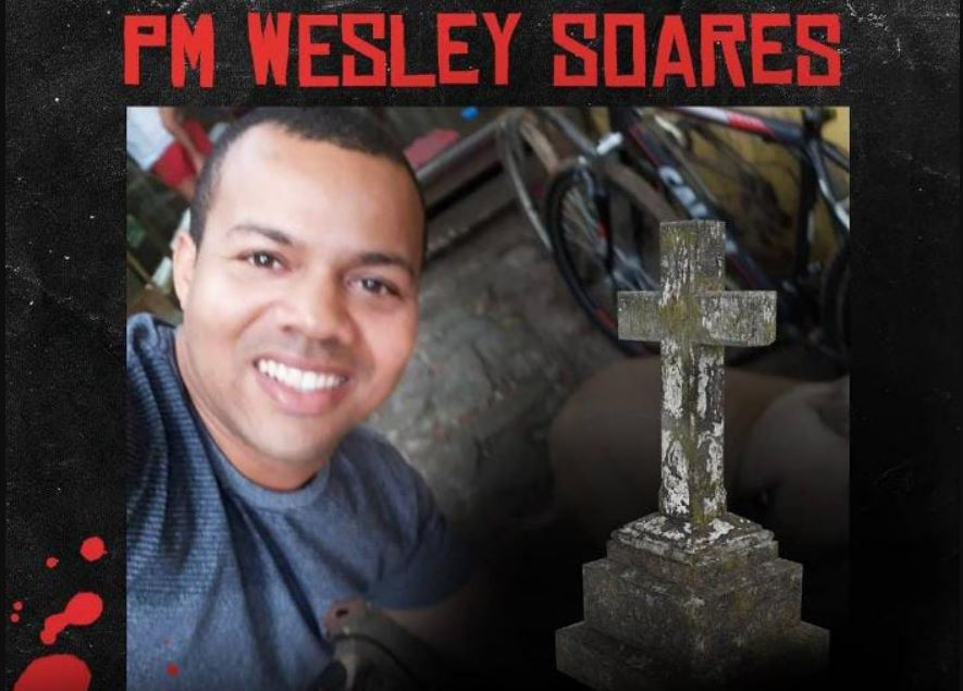 Surto morre PM Wesley Farol da Barra