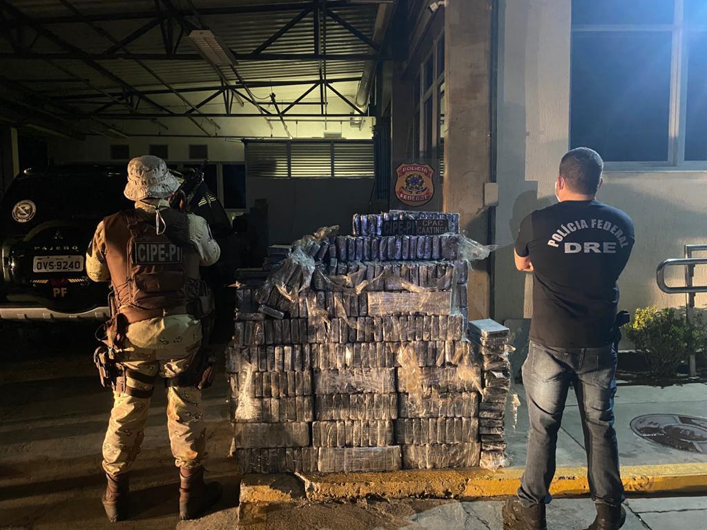 cocaina santo estavão polícia federal