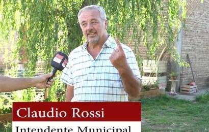 Claudio Rossi buscaría ser diputado