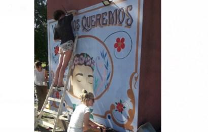Crean un mural para conmemorar a Úrsula Bahillo