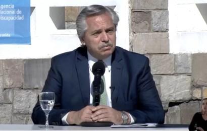 El Presidente llamó a movilizarse en las plazas por el 17 de Octubre