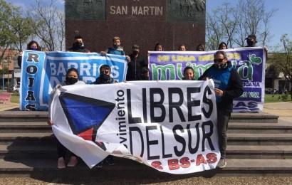 Libres del Sur se manifiesta en reclamo de viviendas