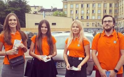 Promocja aplikacji mobilnej EPARK w Częstochowie