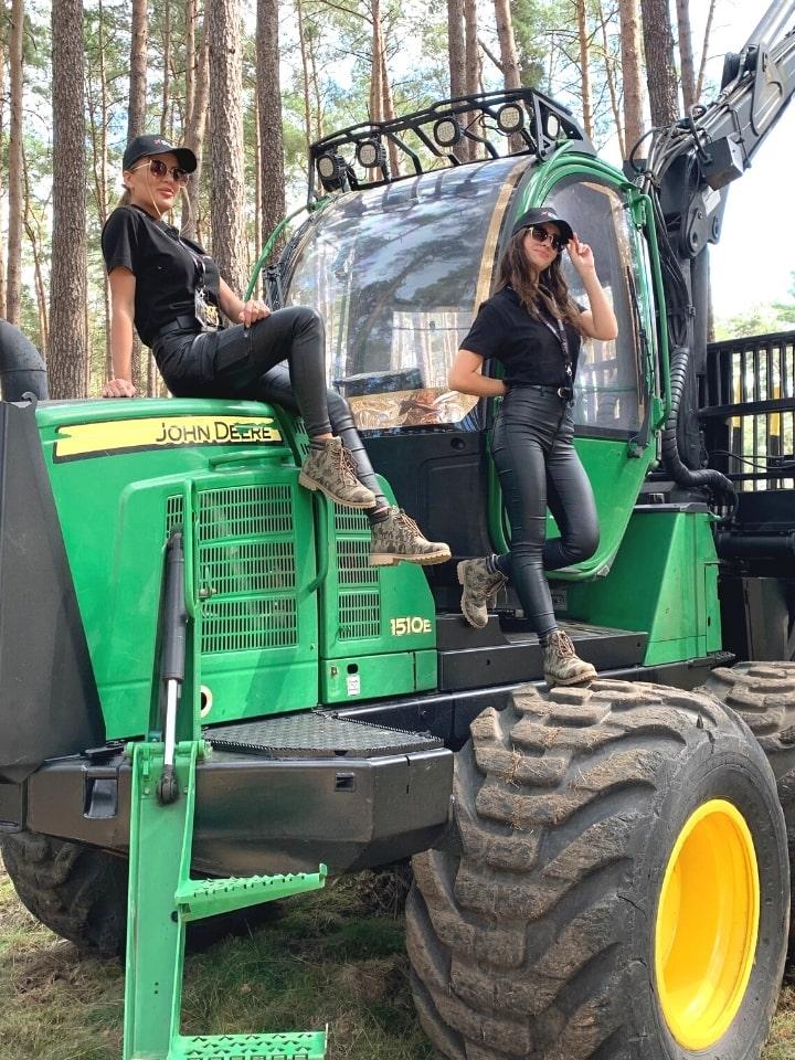 hostessy na targi eko gospodarki leśnej