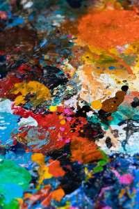 colorful pour texture1