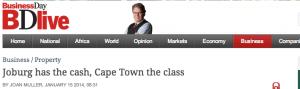joburg cash cape town class