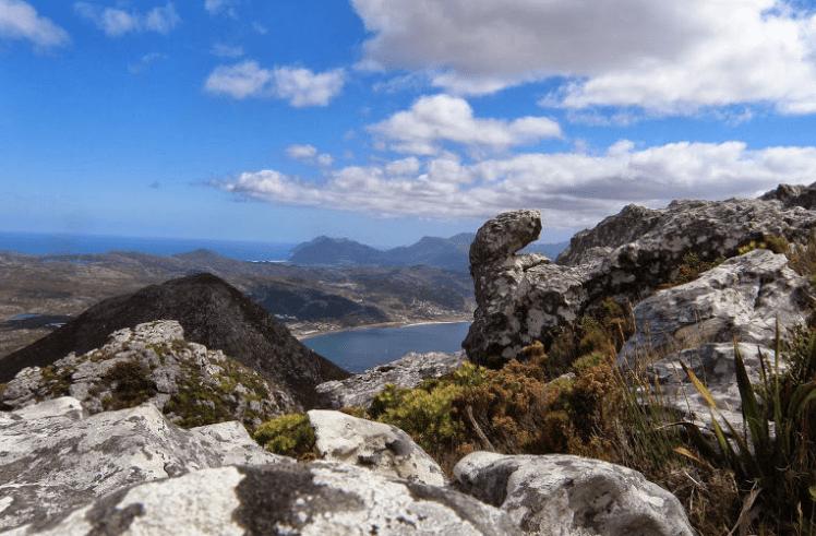 Swartkop Mountain Hike Simons Town great views on False Bay