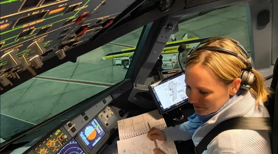 covid-19-flight-from-hell Women Pilot Flight Simulator