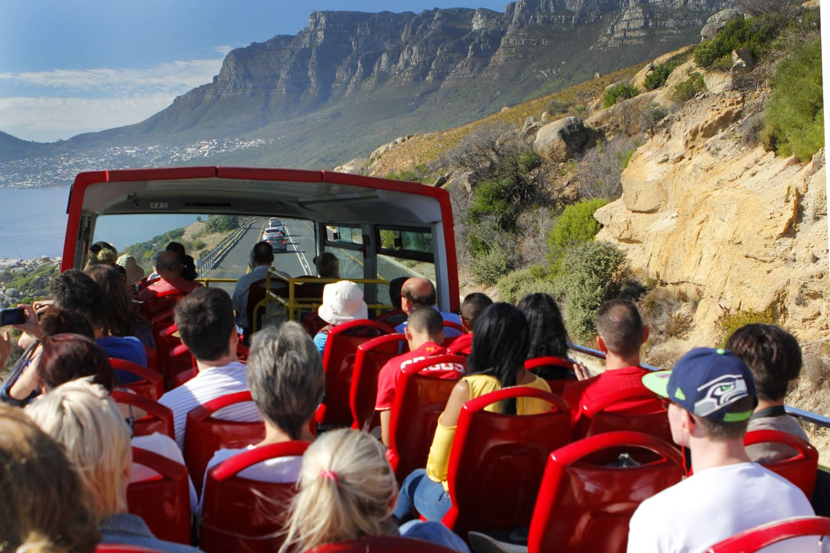 Hop on hop off bus Things To Do in Cape Town On Your Birthday