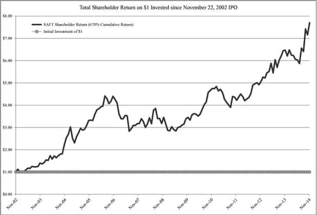 Stockholder return