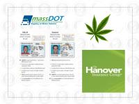 Agency Checklists, MA Insurance News, Mass. Insurance News, The Hanover, Hanover's online quoting tool, Marijuana insurance regulations Mass., Mass RMV, RMV REAL ID