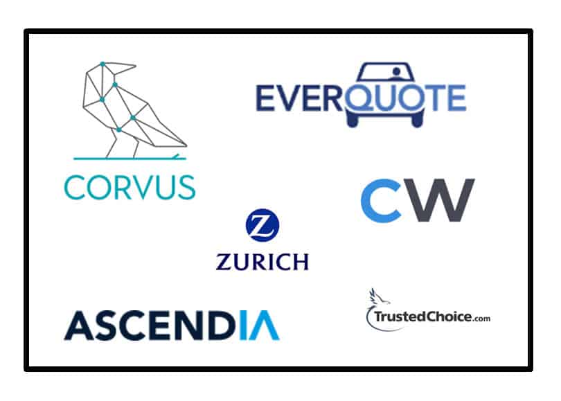 Ma Insurtech Update Corvus Everquote Zurich Coverwallet Trustedchoice Com Ascendia Agency Checklists