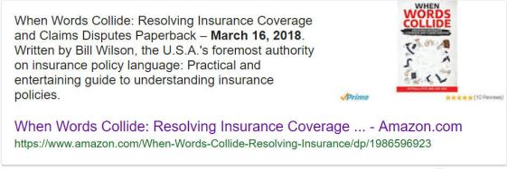 Agency Checklists, When Words Collide, Bill Wilson, Insurance Commentary, Big I Bill Wilson's Book, Books on Insurance for Agents