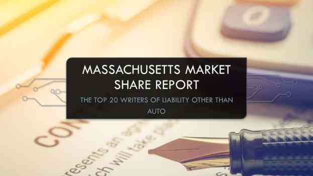 Largest insurers in Massachusetts, Liability other than auto