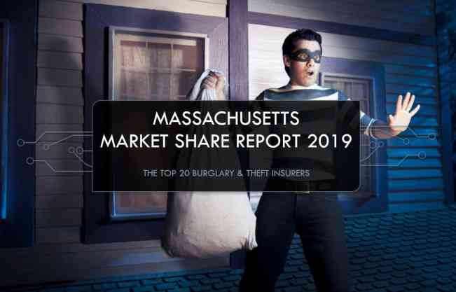 Top Burglary & Theft Insurance Companies in Massachusetts, Who writes Burglary & Theft Insurance?