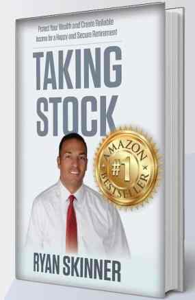 "The front cover of Ryan Skinner's book ""Tacking Stock."" The cover has Mr. Ryan's picture on the vover"
