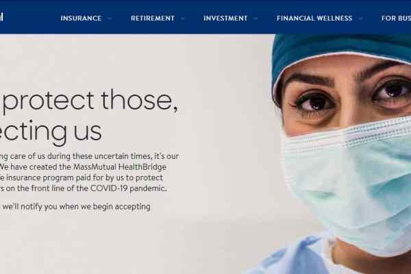 Coronavirus in Massachusetts: MassMutual Launches HealthBridge