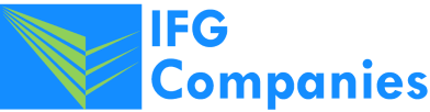 The logo of the IFG insurance companies