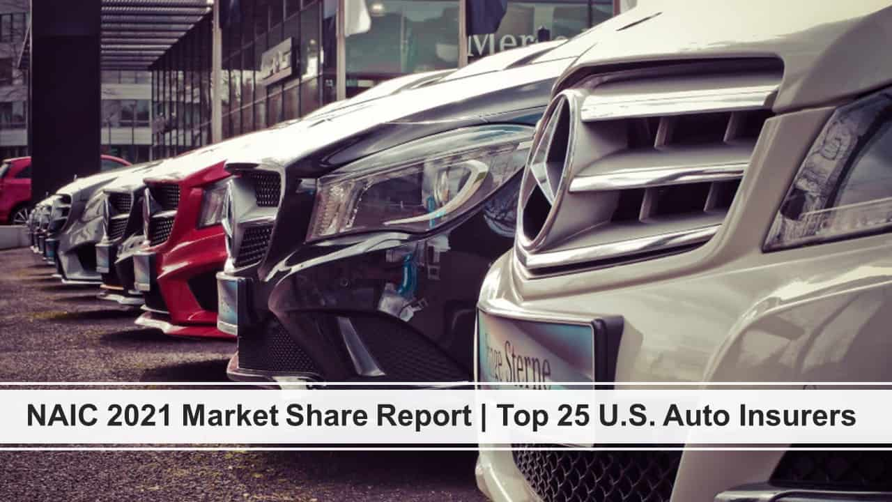 Top Auto Insurers US | NAIC 2021 Market Share Report