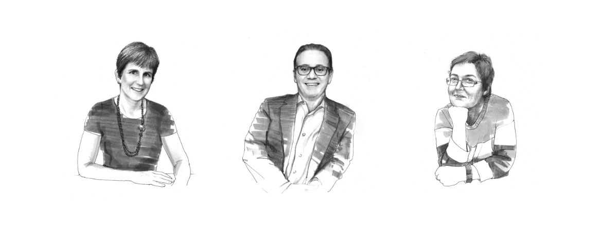 Verit Advisors Illustrated portraits
