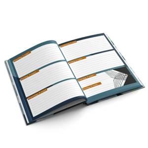 Agenda A5 hardcover staand drukken