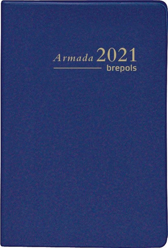 Brepols agenda Armada Seta 4-talig, 2021, blauw