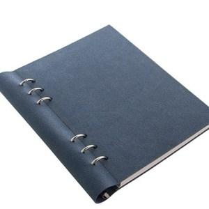 Filofax clipbook a5 clipbook - architexture blue suede