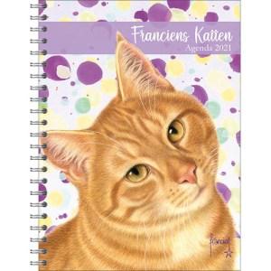 Franciens Katten Bureau Agenda 2021 Rode Kater
