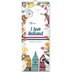 Verjaardagskalender I love Holland