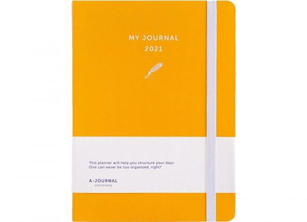 My Journal Jaaragenda 2021 - Oranje