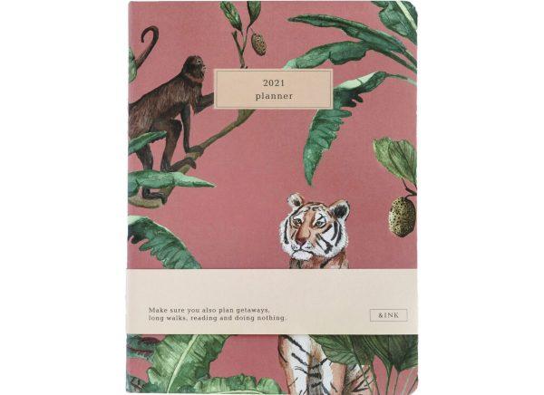 &INK Jaaragenda 2021 - Jungle roze