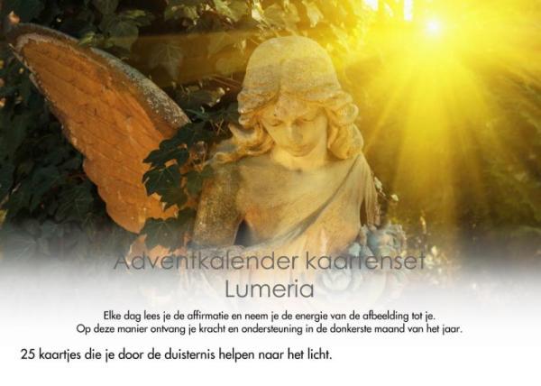 Adventkalender kaartenset Lumeria