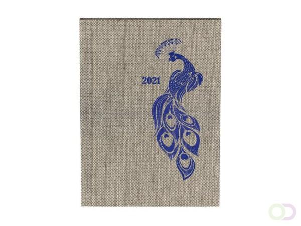 Agenda 2021 planner A5 peacock