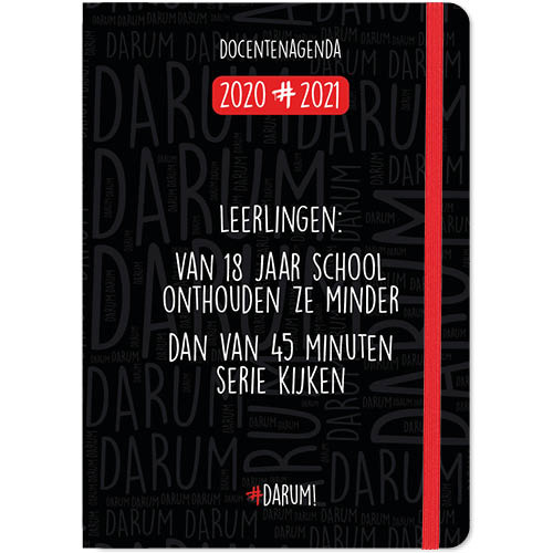 Darum Docentenagenda 2020/2021 A5