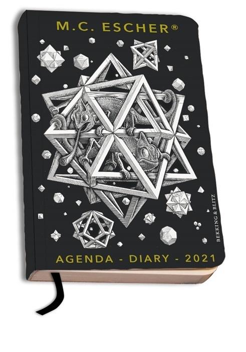 M C Escher Mini Agenda 2021