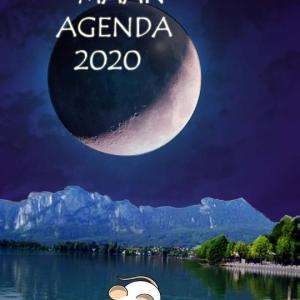 Maankalenders 020A - Maan Agenda
