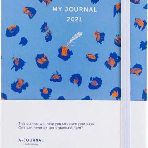 My Journal Agenda 2021 - Lavendel Luipaard