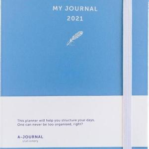 My Journal Agenda 2021 - Lavendel - Overig (8719992460724)