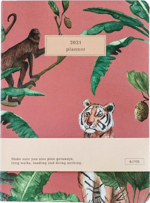 &INK Agenda 2021 - Roze Auteur: A-Journal - Overig (8719992460632)