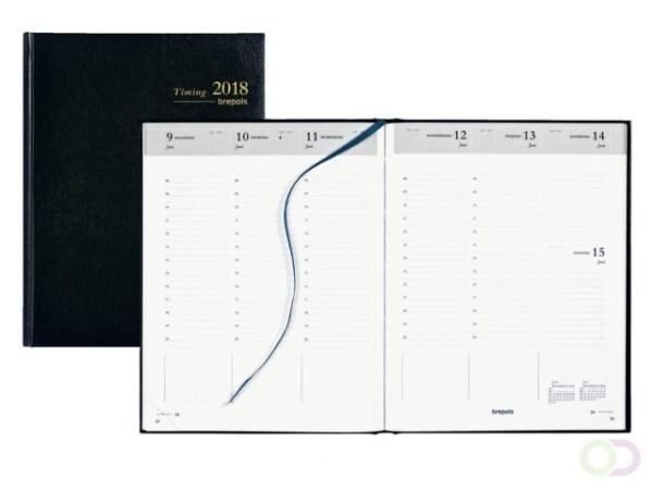 Agenda 2021 Ryam Efficiency kort 1 dag/1 pagina bordeaux