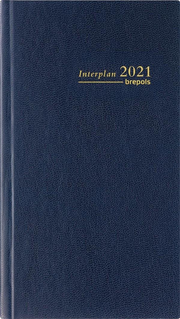 Brepols agenda Interplan Lima 6-talig, blauw, 2022
