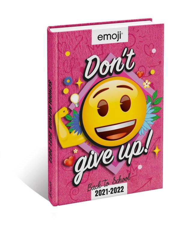 Emoji- Don't give up! - Schoolagenda 2021 - 2022