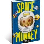 Emoji - Space Monkey - Schoolagenda 2021-2022